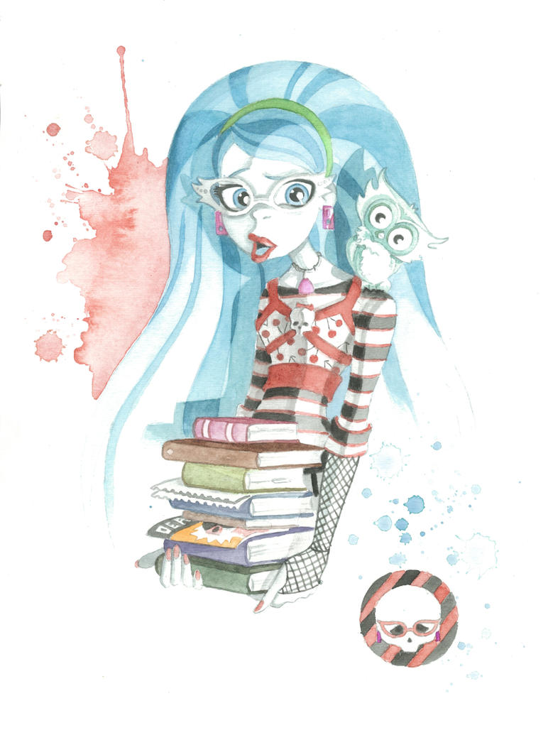 Monster high commission ghoulia yelps by jawart728 on - Monster high ghoulia yelps ...