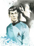 Star Trek Watercolor: Spock