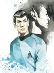 Star Trek Watercolor: Spock