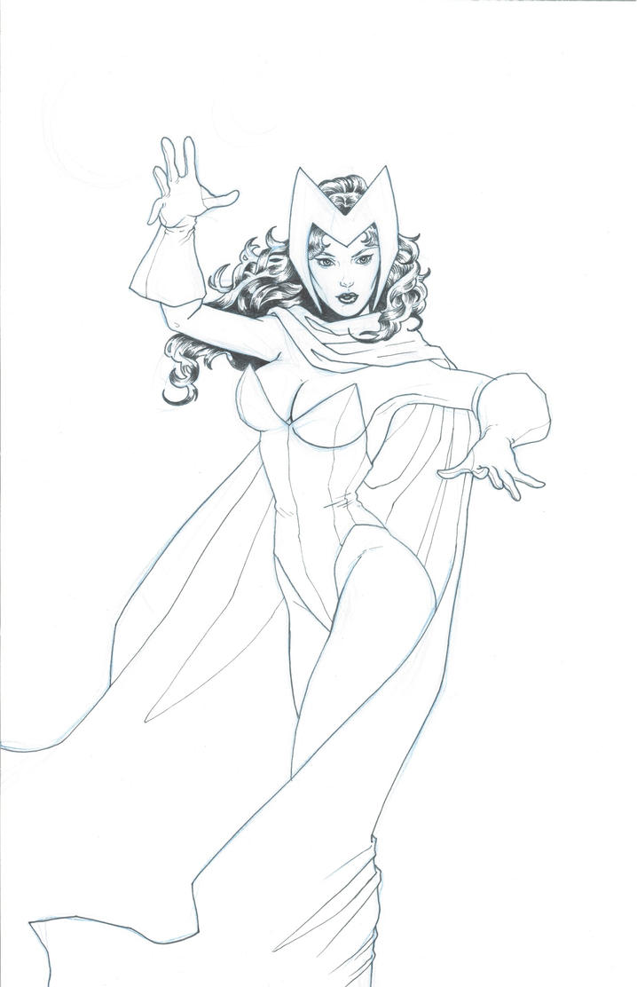 enchantress marvel coloring pages - photo#14