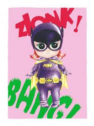Kewpie Batgirl by JAWart728