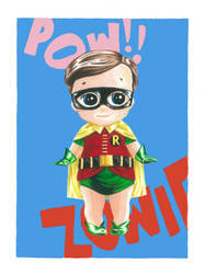 Kewpie Robin by JAWart728
