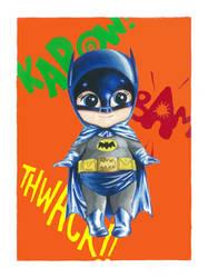 Kewpie Batman by JAWart728