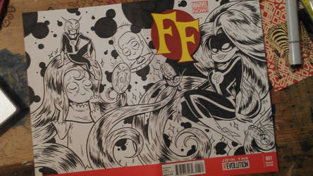 FF sketch cover by JAWart728
