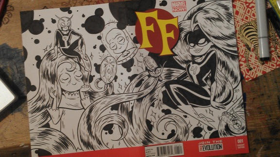 FF sketch cover
