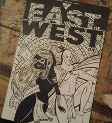EAST of WEST sketch cover