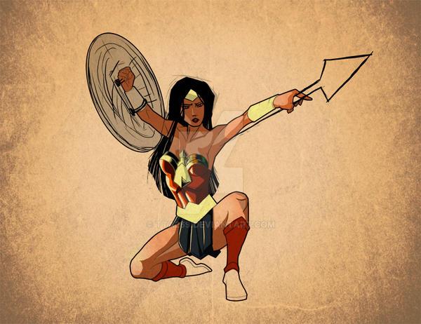 Wonder Woman WIP by tta269