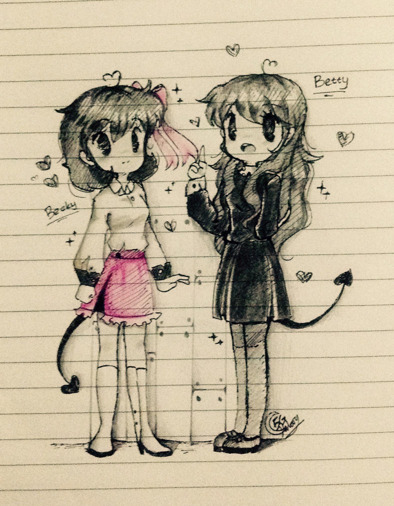 Becky and Betty by 5Guardiians
