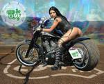 BATHINI - Badass Biker Babe