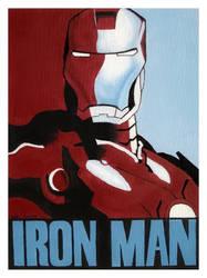 Iron Man Painting by Saaronson