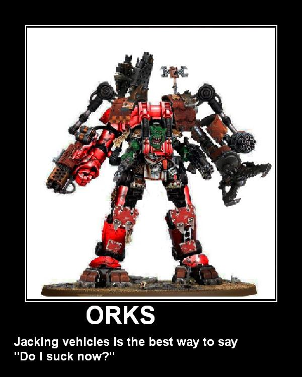Orks took my dreadknight by ChaosChosenOne