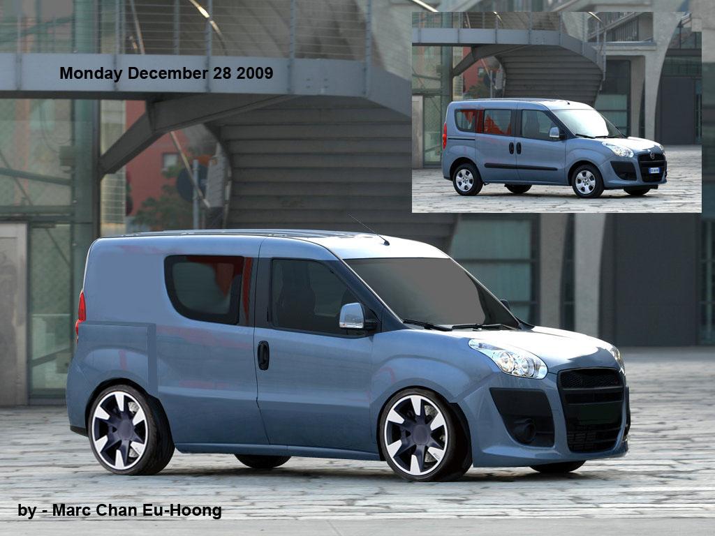 2010 Fiat Doblo Cargo By Munkylovesbananas On Deviantart
