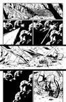 Superman-Wonder Woman #7 pg. 5 Inks by afowlerart