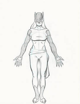 Hellcat Costume Study