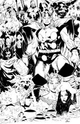 Thor-Tales of Asgard #2 by Olivier Coipel