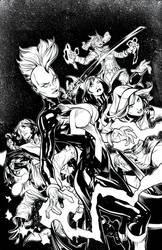 X-Men #1-Terry Dodson by afowlerart