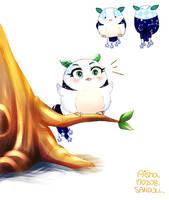[Angry Birds] My OC, Aisha in movie form by Cheon-Sandoll