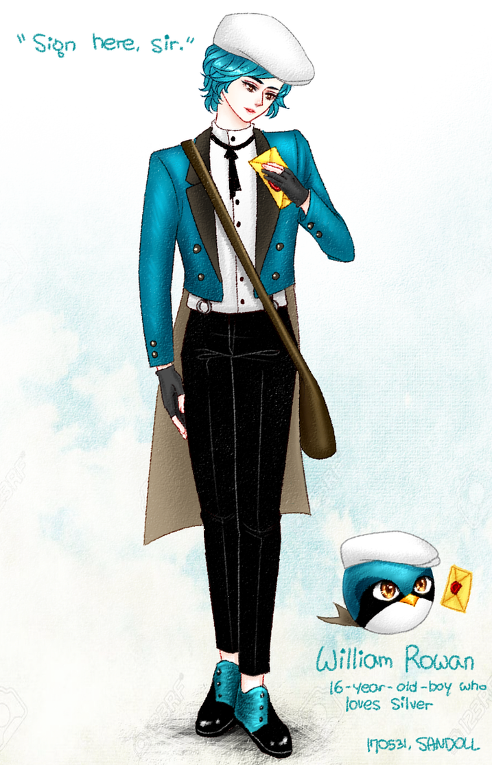[Angry Birds Original Character] William Rowan by Cheon-Sandoll