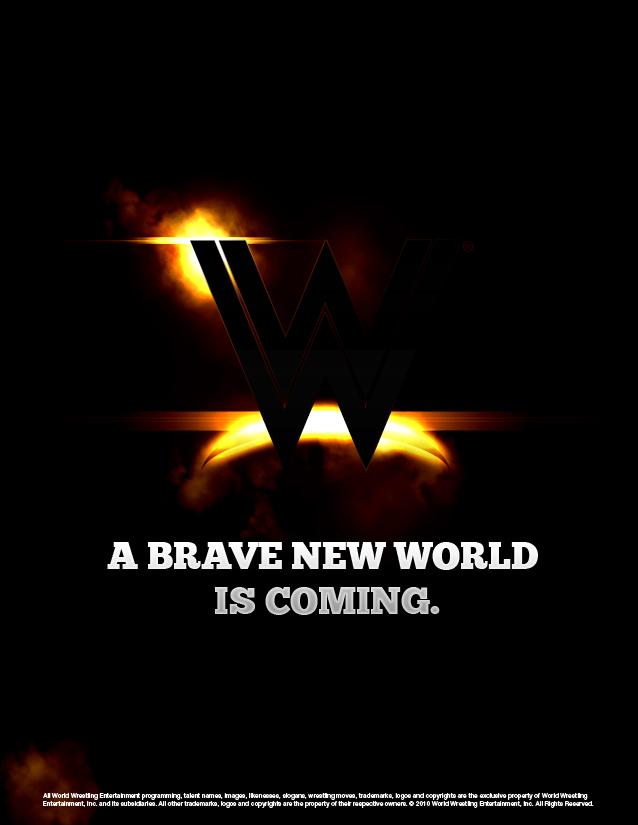 WWE Logo Fan Redesign - Brave