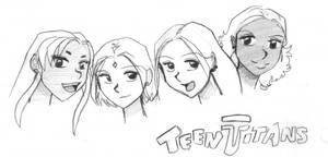 Teen Titans - The Girls
