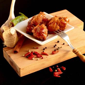 Chicken wings in spice honey by uosiek1