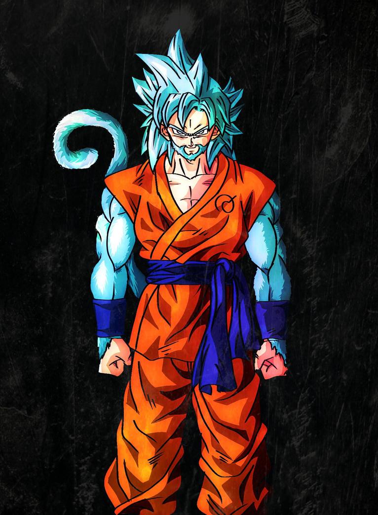 ultimate super saiyan god by BlakeDean