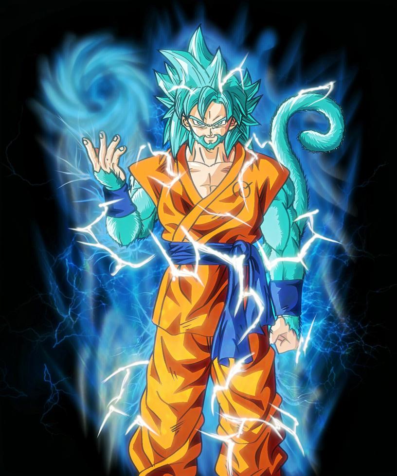 Ultimate Super Saiyan God  (Finished) by BlakeDean