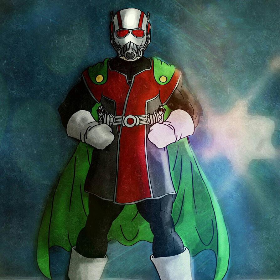 Great SaiyAnt-Man  by BlakeDean