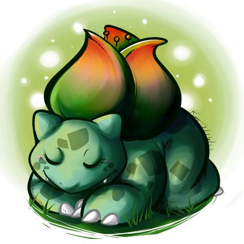 Bulbasaur Nap