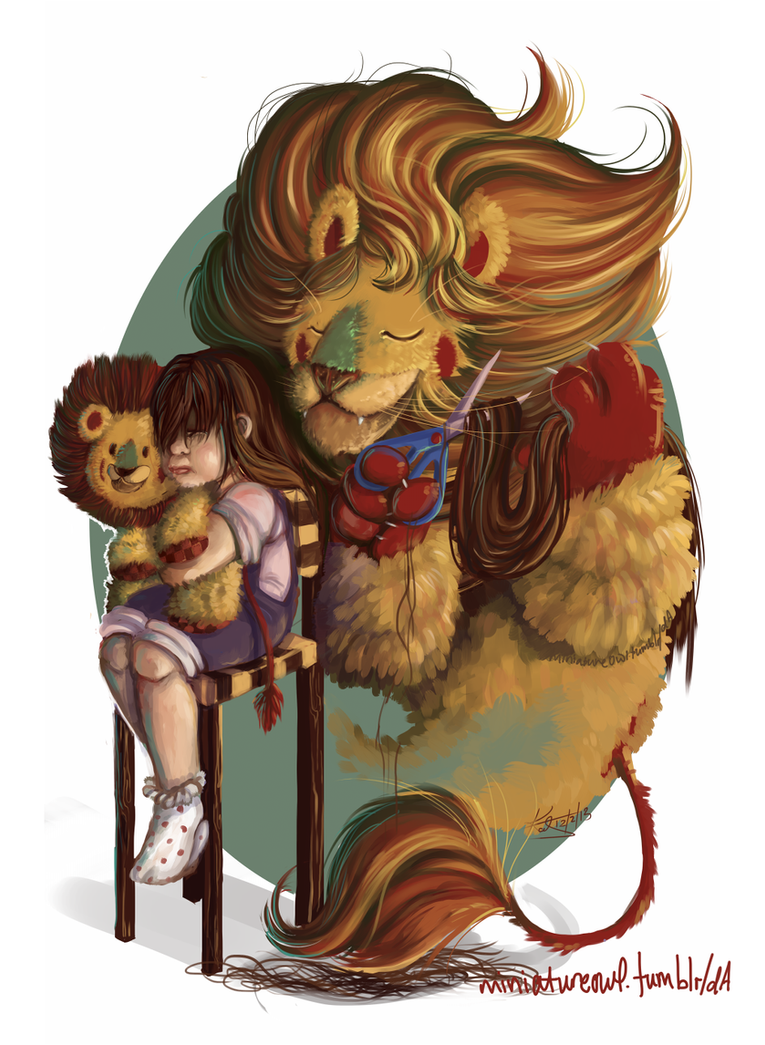 Lion Haircut by Miniatureowl