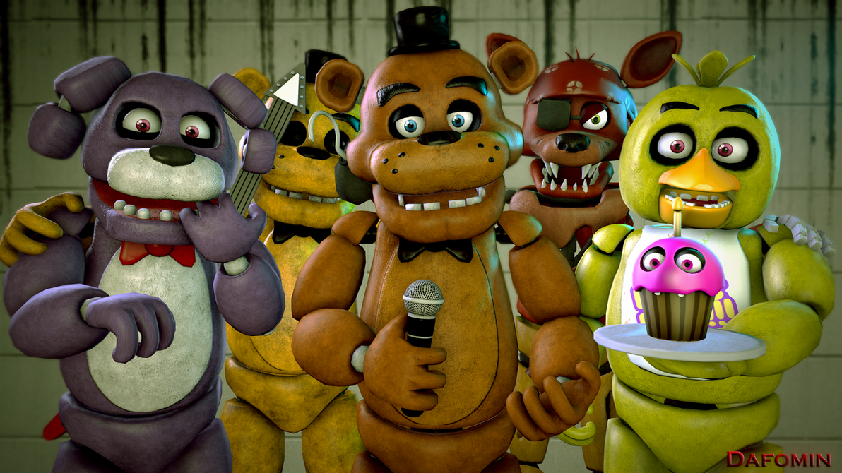 Five Nights at Freddy's 2 Toy Banner (SFM Remake) by TheSitciXD ...