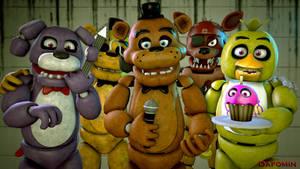 [SFM FNAF]-Five nights at Freddy's animatronics