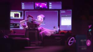 [SFM Overwatch]- Sombra room