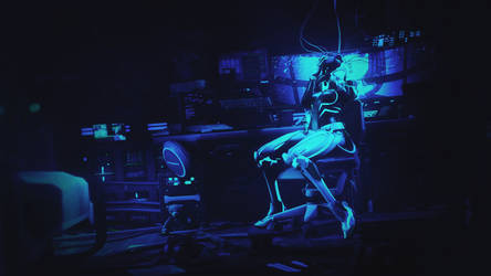 [SFM Overwatch] - Sombra in cyberspace