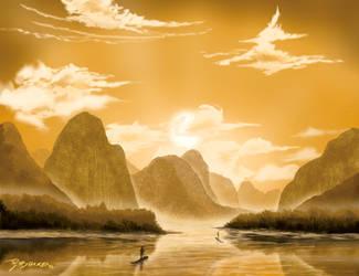 Li River, China by JR-Burgos