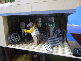 Mad Max car chase (Blackfinger aka a mechanic) by kabhes