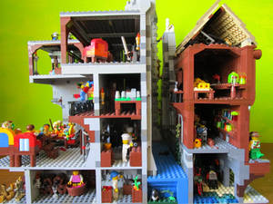 Lego castle: behind