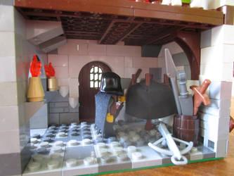 Lego moc inn (foyer) by kabhes
