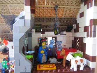 Lego moc inn (princess) by kabhes