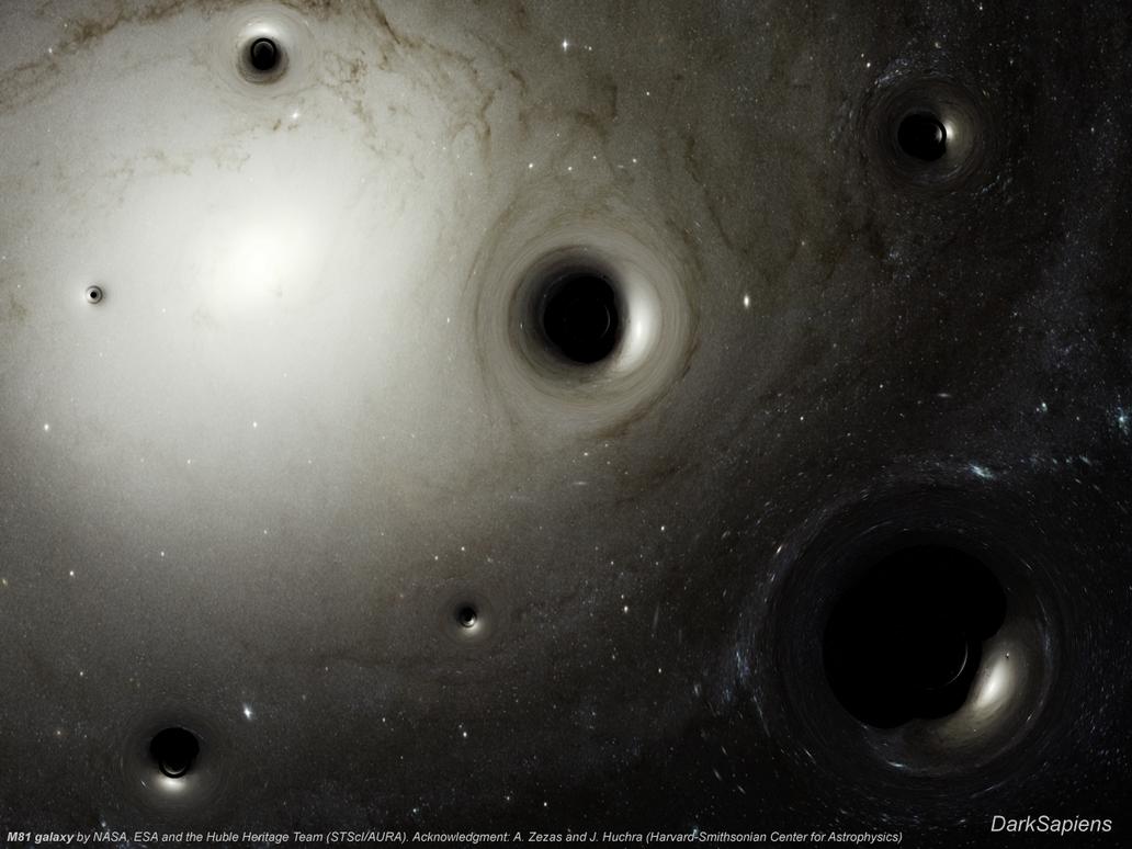 Primordial Black Holes by DarkSapiens