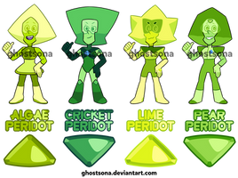 [CLOSED] Peridots by ghostsona