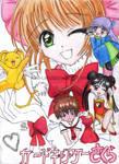 Cardcaptor Sakura group-colour