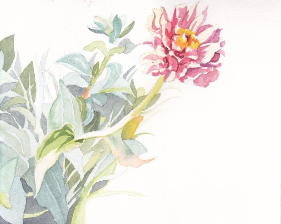 A Single Flower By Kgemeni