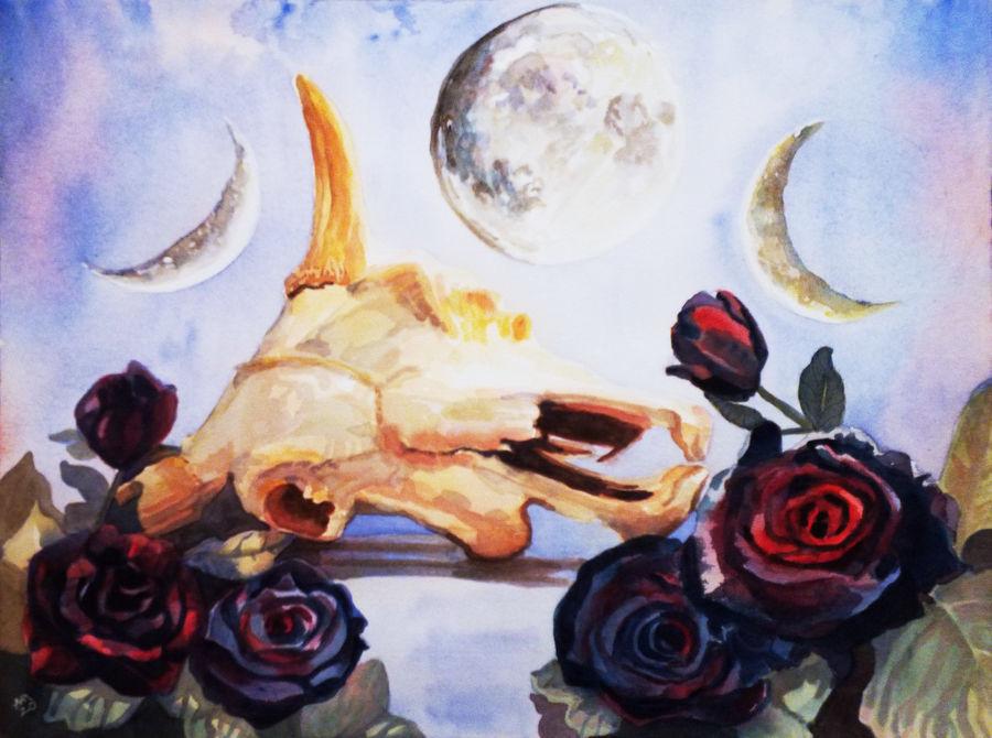 Moonlight Skull