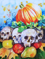 Harvest Skulls by kgemeni