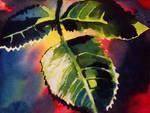 Leaf Study 4 by Amaryn-Philomena