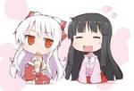 Mokou and Kaguya
