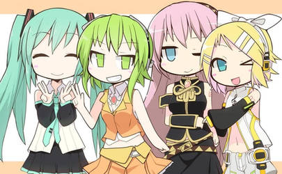 The vocalods by Ladfa-B