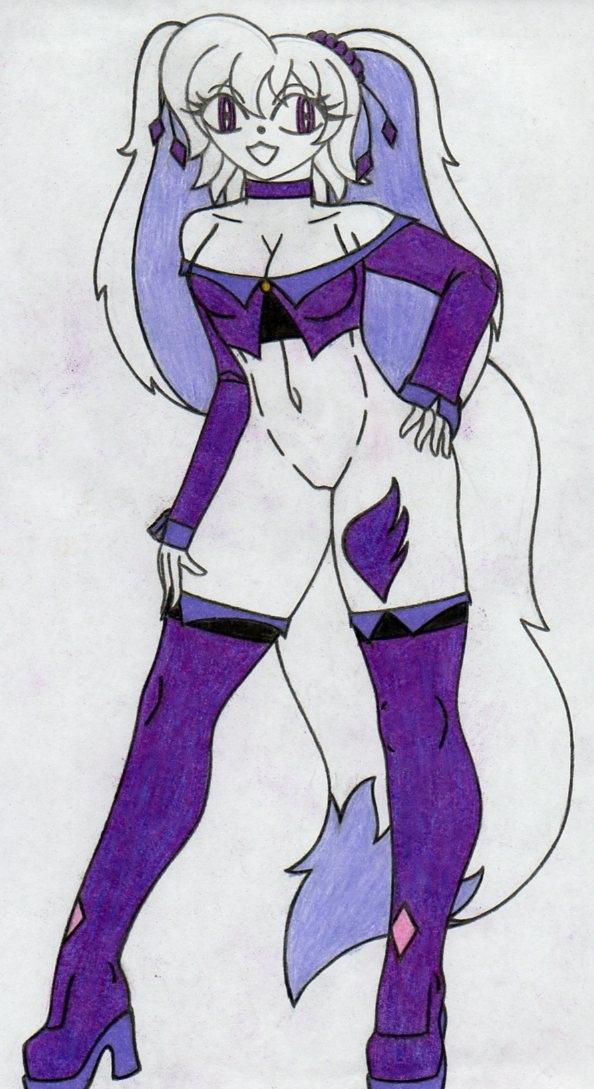 Trish Sapphire 3 by KidoKoala