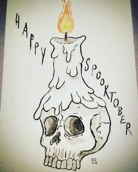 Spooktober Skull
